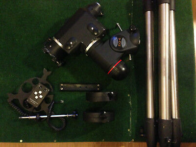 Skywatcher EQ6 mount with dual axis motor drives