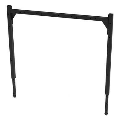 Capital Sports Workout Gym Attachment Rack Mount Metal Black Excercise Fit Body