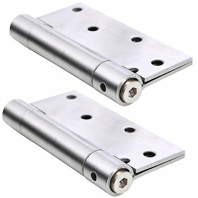 4 inch Stainless Steel Single Spring Door Hinge Automatically Closed Comfortable
