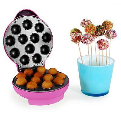 Pink Easy Bake Pop Cake Making Maker 12 Cake Pan Mould Baking Party Birthday