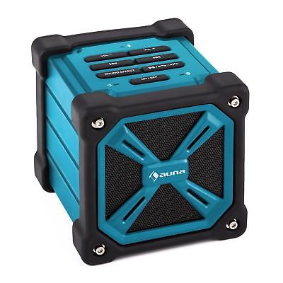 New Mobile Outdoors Bluetooth System Wireless Portable Speaker Usb Charge - Blue