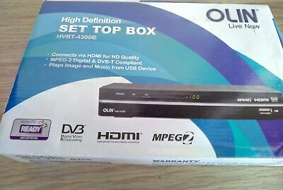 Olin HVBT-4300B High Definition Set Top Box