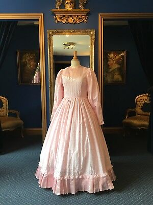 Gorgeous Victorian Style Theatrical Day Dress, Beautifully Cut, Nice Detailing