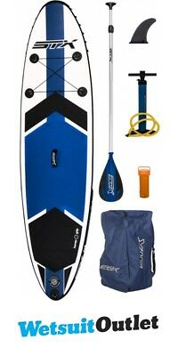 """2017 STX 10'6"""" x 32"""" Freeride Inflatable Stand Up Paddle Board, Paddle, Pump & B"""