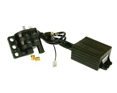 CDI Ignition Box with Coil Malossi K15 RPM Control for AM6, DERBI 06)