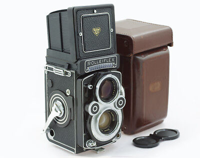 Rolleiflex 3.5F White Face with Planar 3.5/75 mm