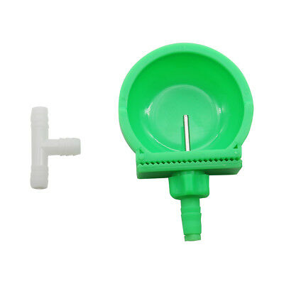 10 Pcs Rabbit Automatic Water Drinking Bowl Nipple Drinker Poultry Equipment NEW