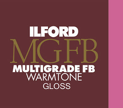 Ilford Warmtone MGFB Gloss 20x24 (50.8x61) 10 Sheets Old Style Packaging