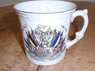 World War 1 Commemorative Peace Mug.
