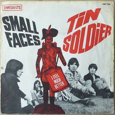 "7"" Small Faces - Tin Soldier - Frankreich 1967 - VG+(+) to VG++"