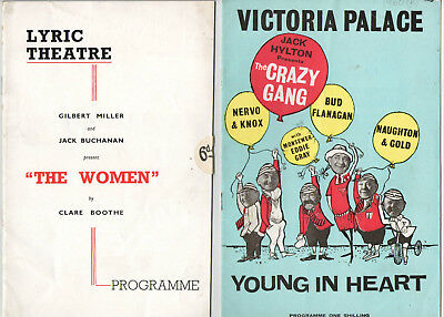 17 x Vintage 1950s And LaterTheatre programmes. Ginger Rogers, Morecambe & Wise