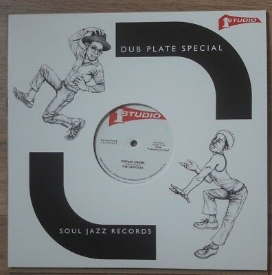 """The Officials Distant Drums Dub Plate Special Ltd 12"""" Vinyl Soul Jazz Sold Out"""