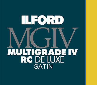 Ilford Deluxe MGRC Satin 16x20 (40.6x50.8) 50 Sheets 1772339