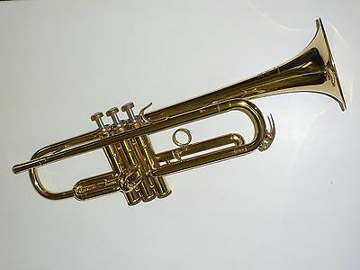 Beautiful Bb lacquered trumpet