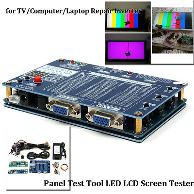 19Pcs/Set Panel Test Tool LED LCD Screen Tester For TV/Computer/Laptop Repair US