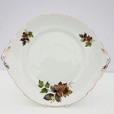 Vintage Royal Stafford Beechwood Bone China Cake Plate