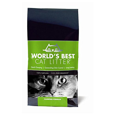 World's Best Cat Litter Clumps Fast Scoops Easily Odor Control, 3.18kg Original