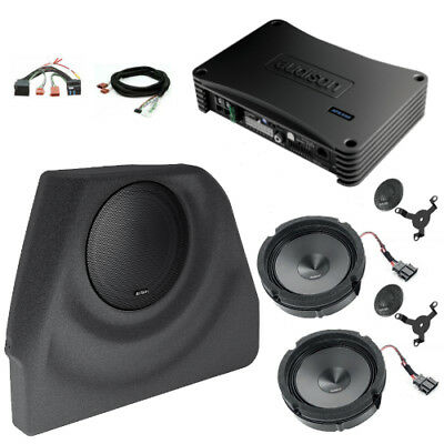 Audison Prima APSP G6 Front Speakers & Subwoofer Audio Package for VW Golf Mk6