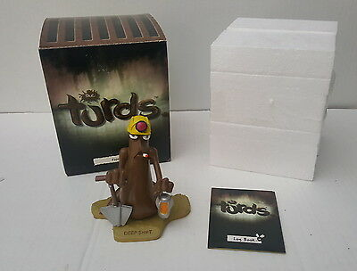 Deep Sh*t Sh!t The Turds Figurine Boxed w/ Log Book Funny Statue Collectable