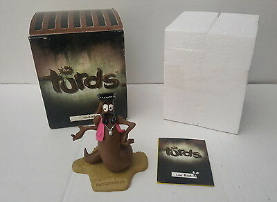 Fudgepacker The Turds Figurine Boxed w/ Log Book Funny Statue Collectable