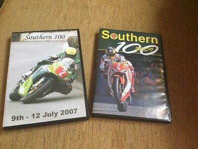 2 Southern 100 Road Race Review DVDs 2007/2009