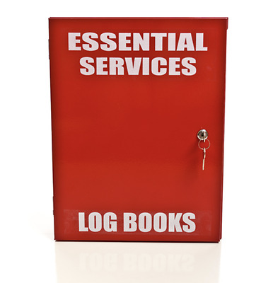 Log Book Cabinet With 003 Lock - Essential Services, Fire Services