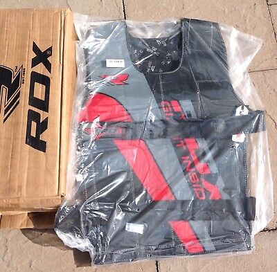 Rdx Adjustable Heavy Weighted Vest 18 Kg Brand New Cash On Collection Only