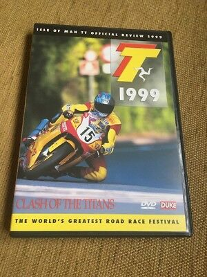 Duke Isle Of Man TT Official Review 1999 Clash Of The Titans Brand New