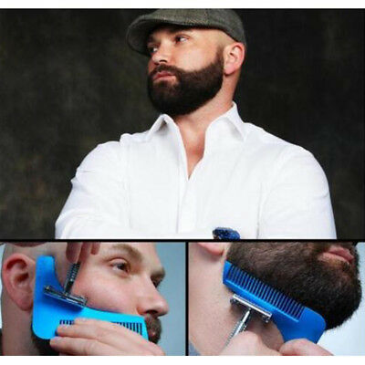 Beard Shaping Template Comb Styling Tool Trimming Line Facial Care Perfect Lines