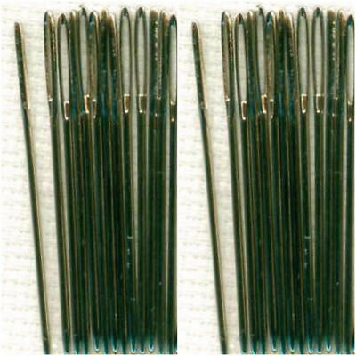 Tapestry Needles Nickel Plated SIZE 18 & 20 Available in packs of 10, 15, 25 ,50