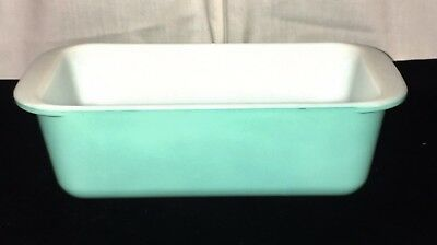"Pyrex TURQUOISE BLUE *8 1/2"" - 1.5 Quart*  LOAF PAN* #913*"