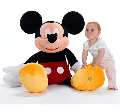 Disney Store Mickey Mouse Clubhouse 100cm 1 M meter Giant Plush Soft Toy BNWT -