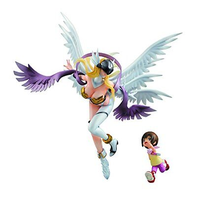 MegaHouse Digimon Adventure Figure Angewomon & Yagami Hikari GEM G.E.M from JP