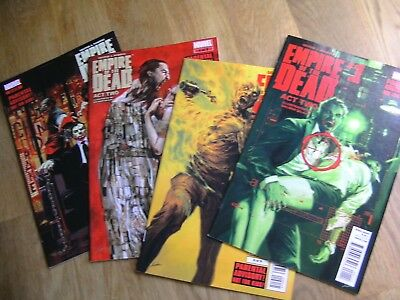 MARVEL Romero's Empire Of The Dead Act Two graphic comics lot #1-4 /5 2014-5 NEW