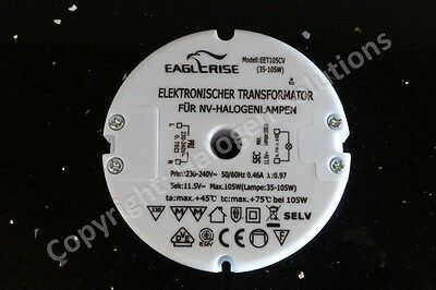 Rapid Post: Eaglerise EET105CV 105W Halogen Transformer New: 18 Month Warranty!