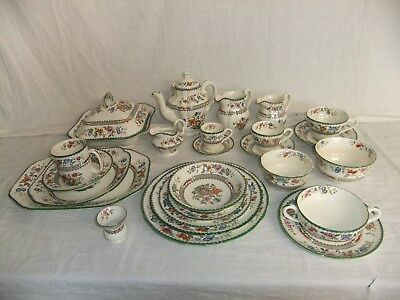 C4 Porcelain Spode Copeland Chinese Rose (pattern no.629599) 1B2A