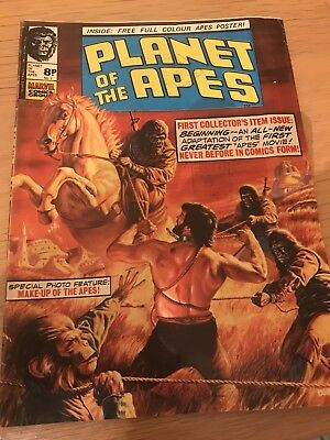 Planet Of The Apes Vintage Comic 1st Issue