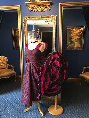 "Fantastic Period ""Can Can""  Dress Made For "" The Merry Widow"" Stunning Dress!!!"