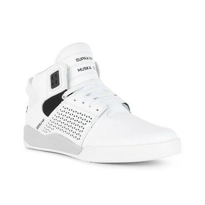 Supra Shoes Skytop 3 High Top - White Black White