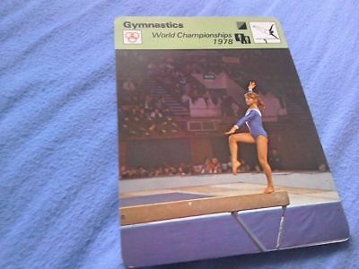 Gymnastics world championships 1978 new sportscard