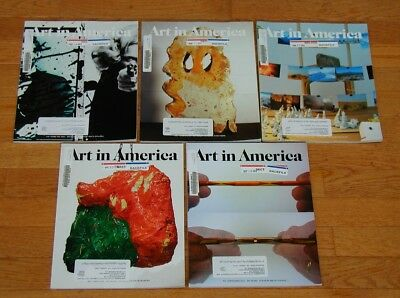 LOT 2013 Art in America magazine 5 issues graphic design books ILLUSTRATED