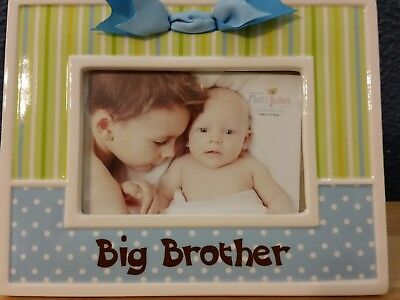 Big Brother Picture Frame, Demdaco  Nat & Jules Celebrate Me Collection
