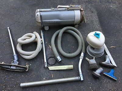 electrolux canister vacuum Attachments Bags Working Modern Sled Vintage Cleaner