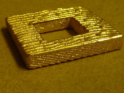 Pure gold nugget casting 23ct  30.9g