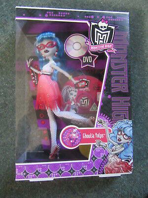 Mattel Boxed Monster High. Dawn Of The Dance. Ghoulia Yelps.