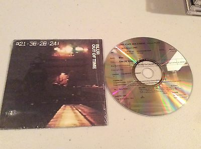 Blur Out Of Time promo cd single