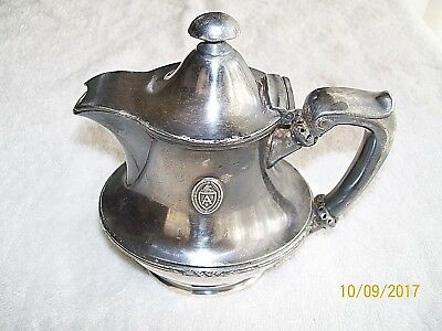 Reed and Barton Arlington Hotel Silver Soldered Creamer(0207-H)