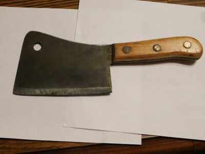 Vintage Briddell Meat Cleaver Nice