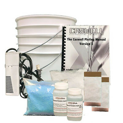 Bright Acid Copper Plating Kit - 1.5 Gal