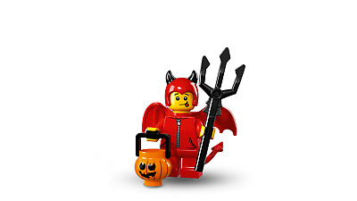 Lego Minifigure Series 16 71013 Cute Little Devil with Pumpkin Pail
